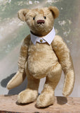 Robin is a large traditional one of a kind, vintage mohair artist teddy bear by Barbara Ann Bears