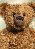 Sir Cadbury is a large classical, one of a kind, mohair artist bear by Barbara-Ann Bears
