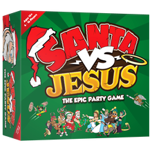 Santa VS Jesus - The Epic Party Game!