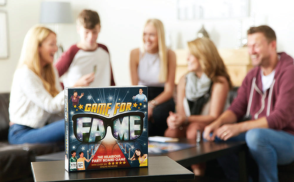 Game For Fame - The Hilarious Party Board Game