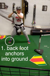 Teaching a Connected Power Baseball Swing