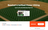 Baseball & Softball Effortless Power (TM) Hitting Course & Downloadable Program