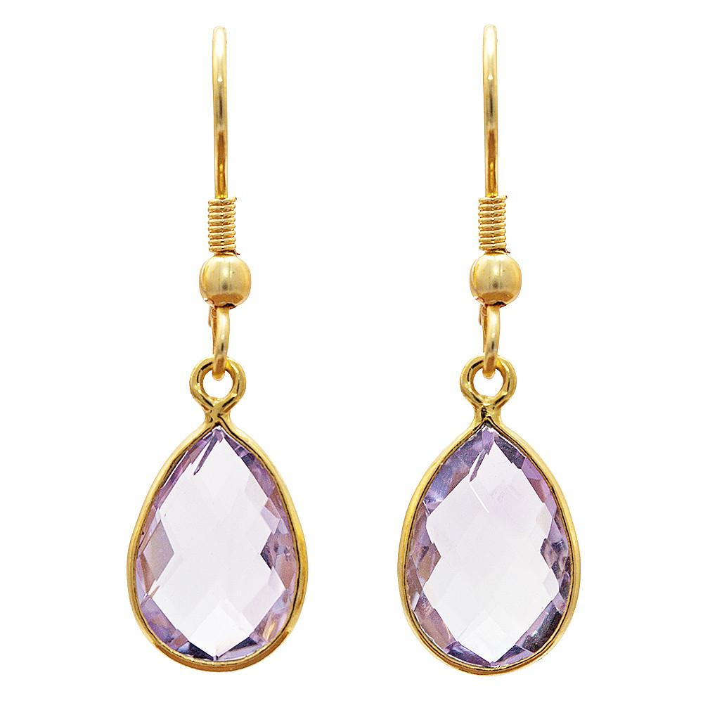 Gypsy Amethyst Earrings