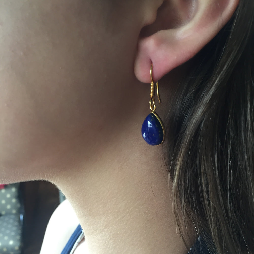 Isabel Gemstone Earrings
