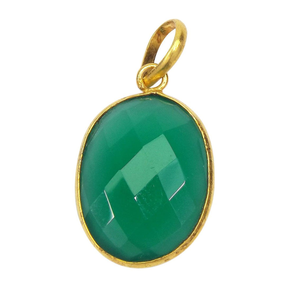 Khushi Green Onyx Necklace