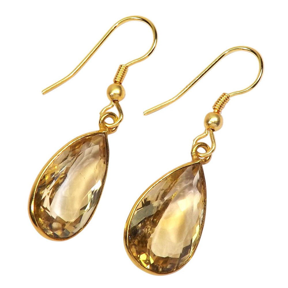 Satya Citrine Earrings