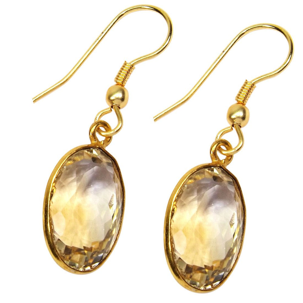 Laylah Citrine Earrings