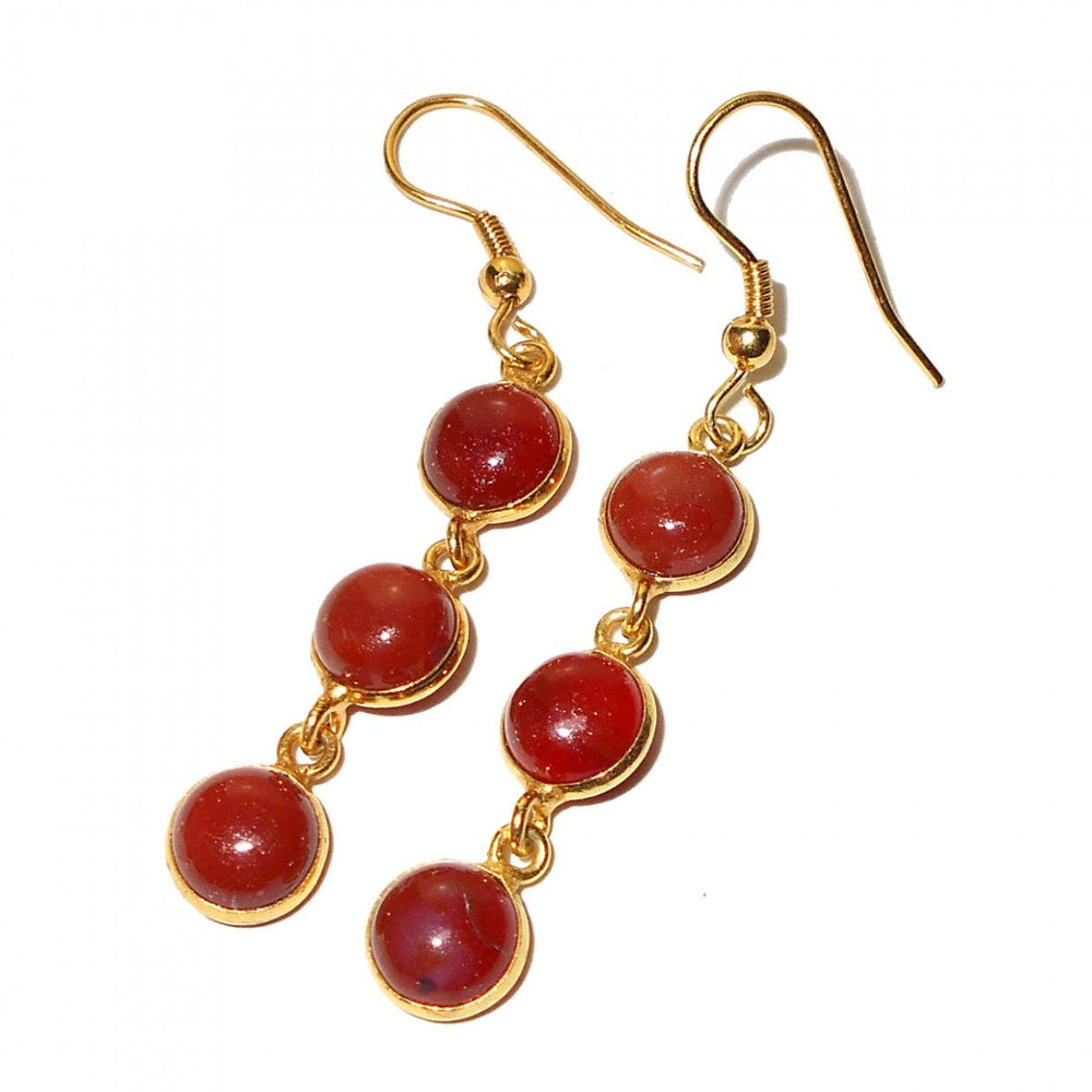 Savannah Carnelian Earrings