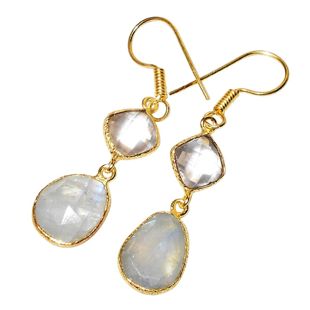 Ijaya Gemstone Earrings