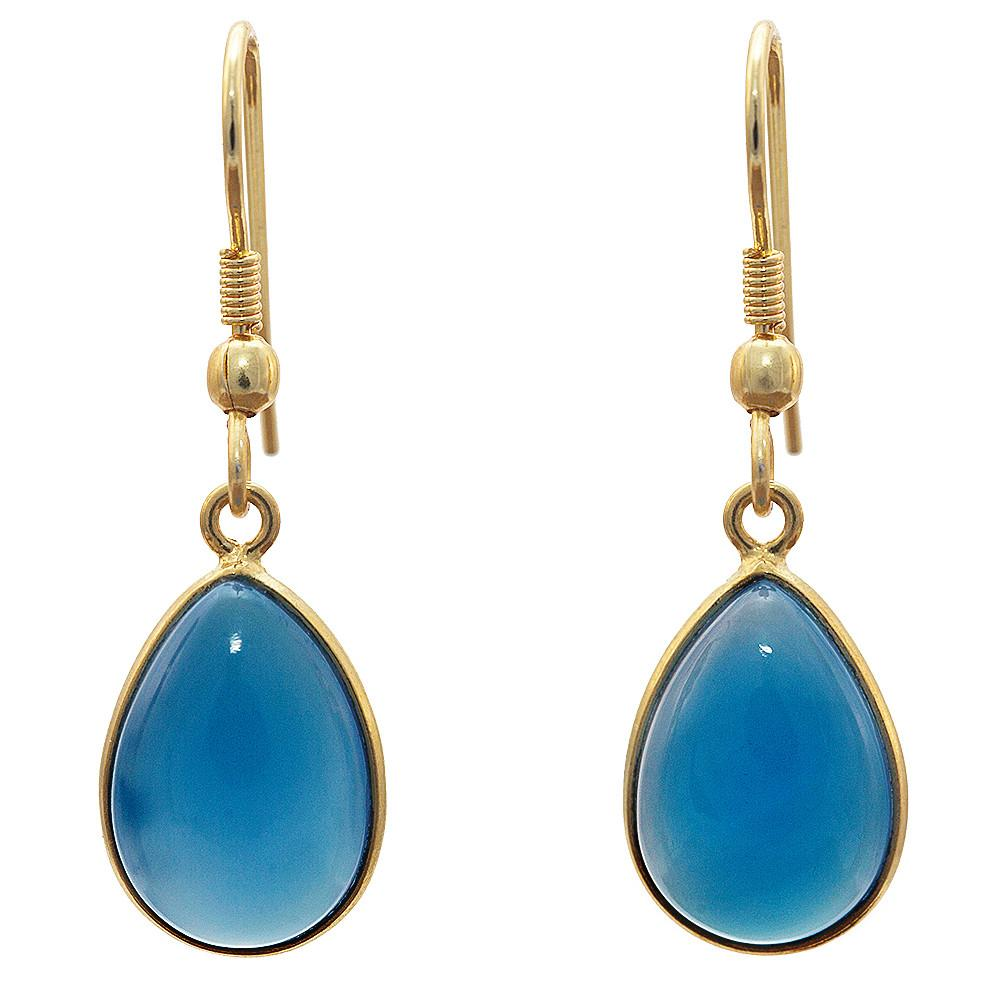 Arna Chalcedony Earrings