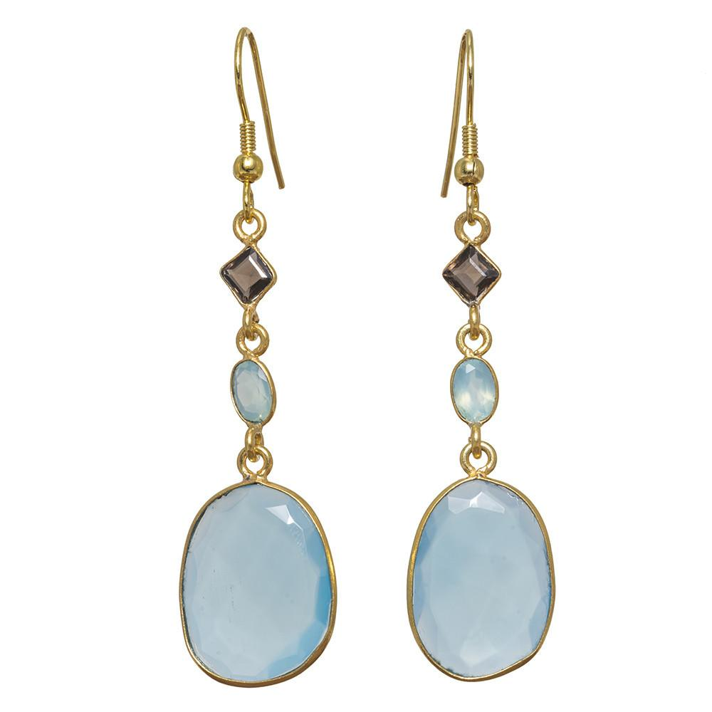 Morocco Gemstone Earrings