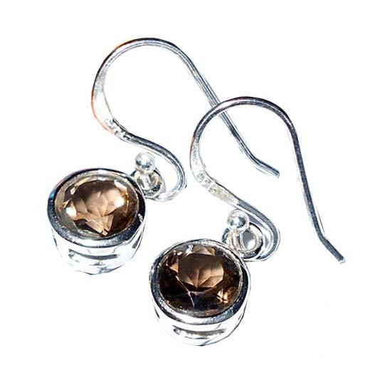 925 Sterling Silver Earrings - Handmade Faceted Cut Gemstone Earrings - Sitara Collections