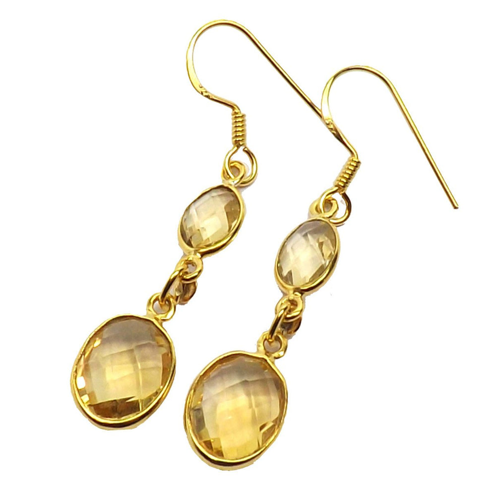 Ela Citrine Earrings