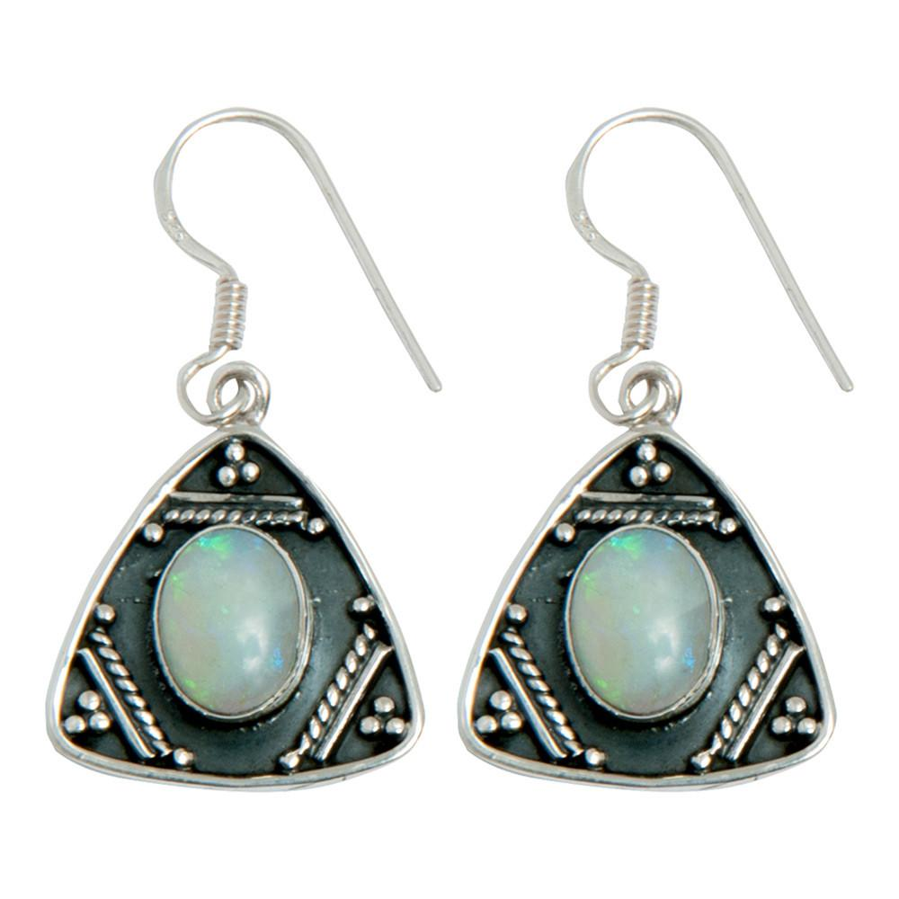 Tribal Gemstone Earrings