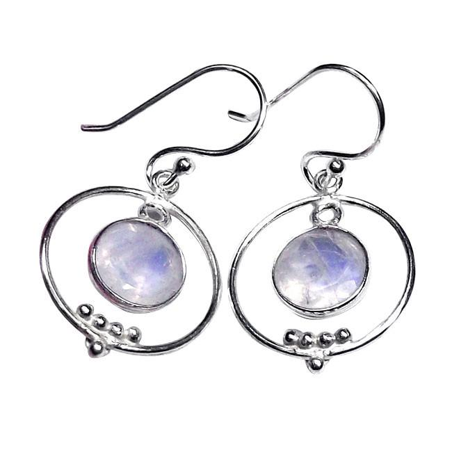 Nikita Moonstone Earrings