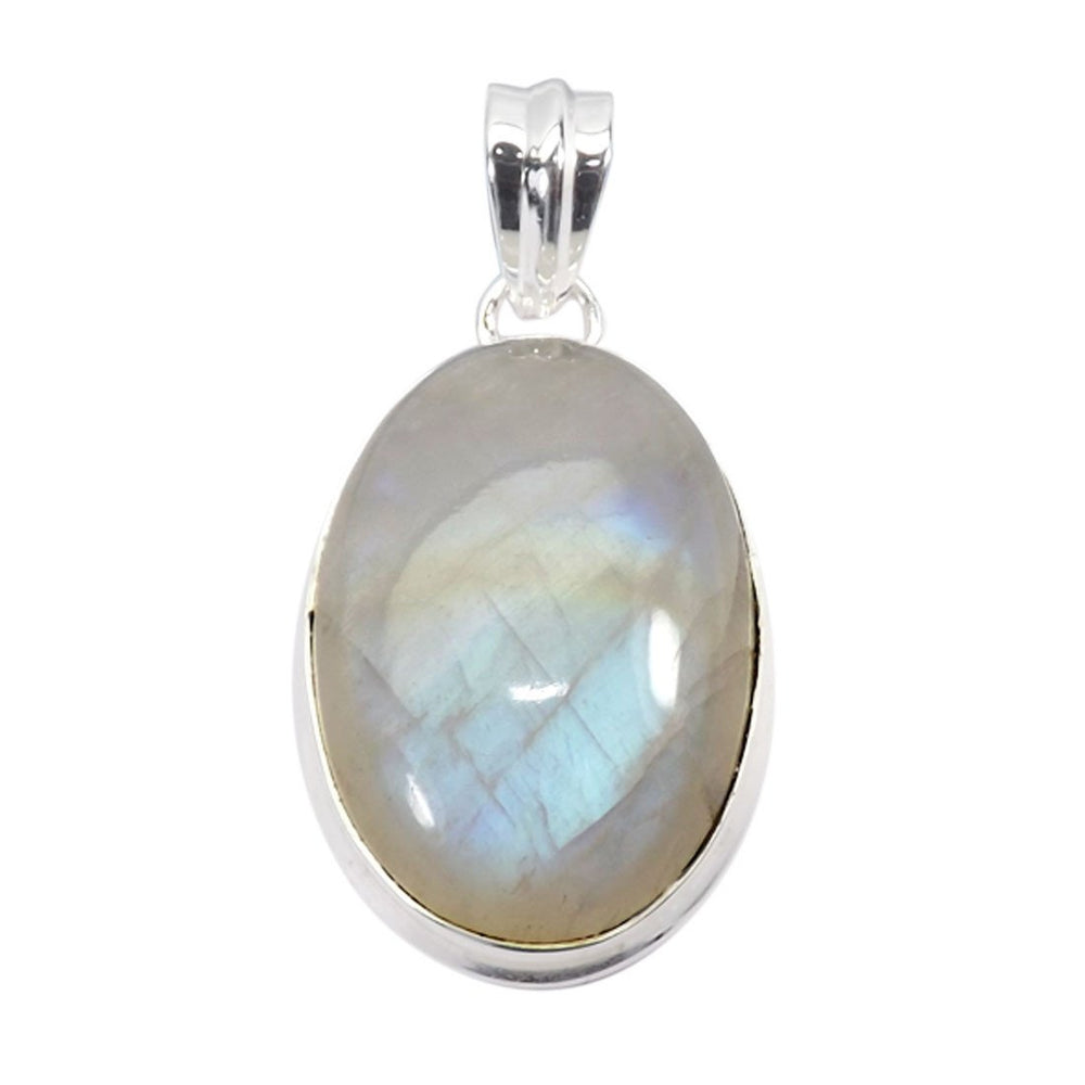 Omya Rainbow Moonstone Necklace