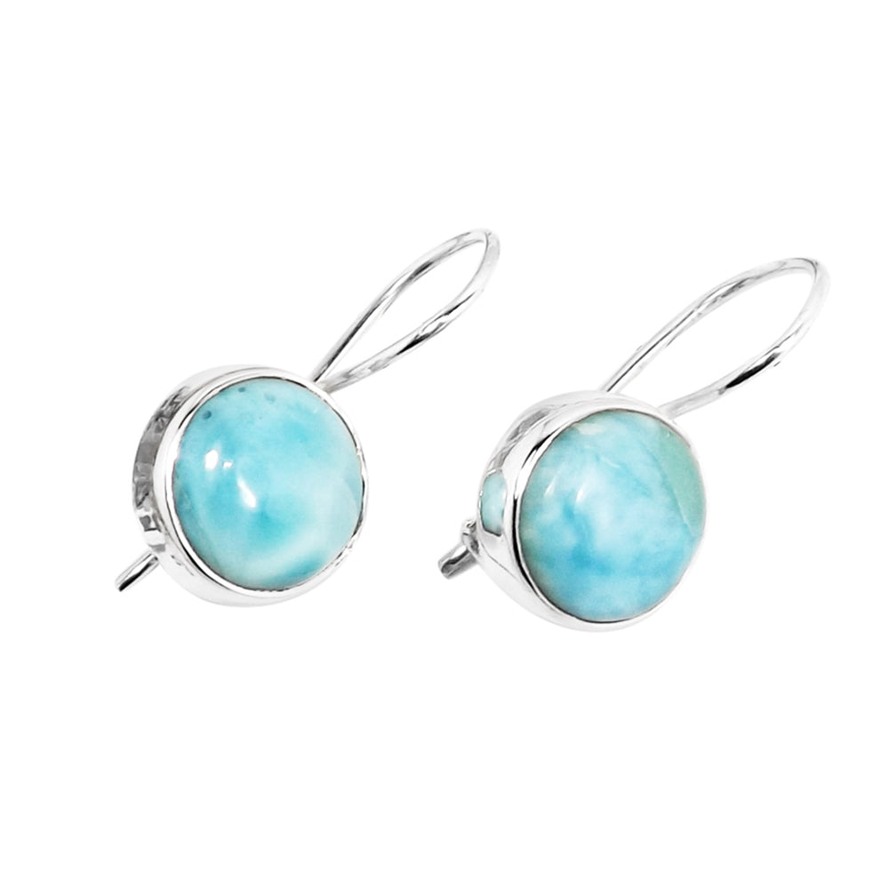 Meher Larimar Earrings