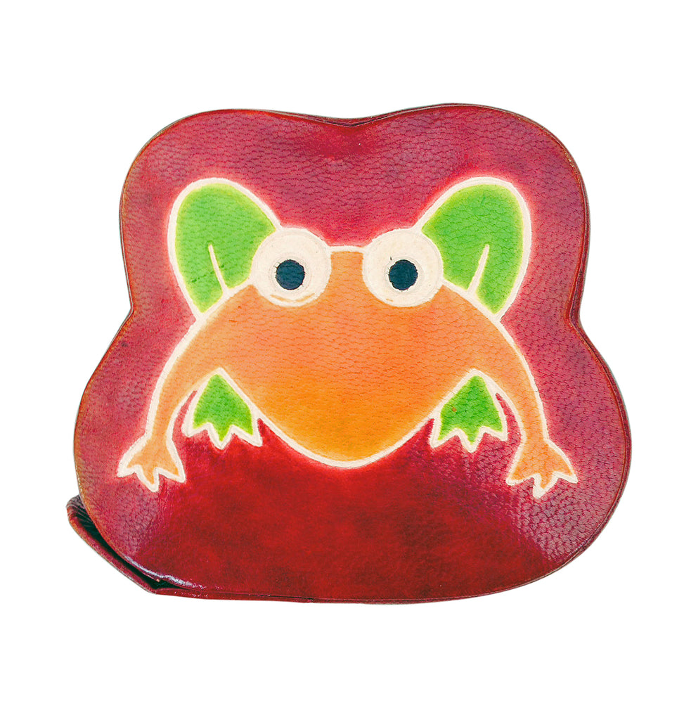 Leather Frog Piggy bank