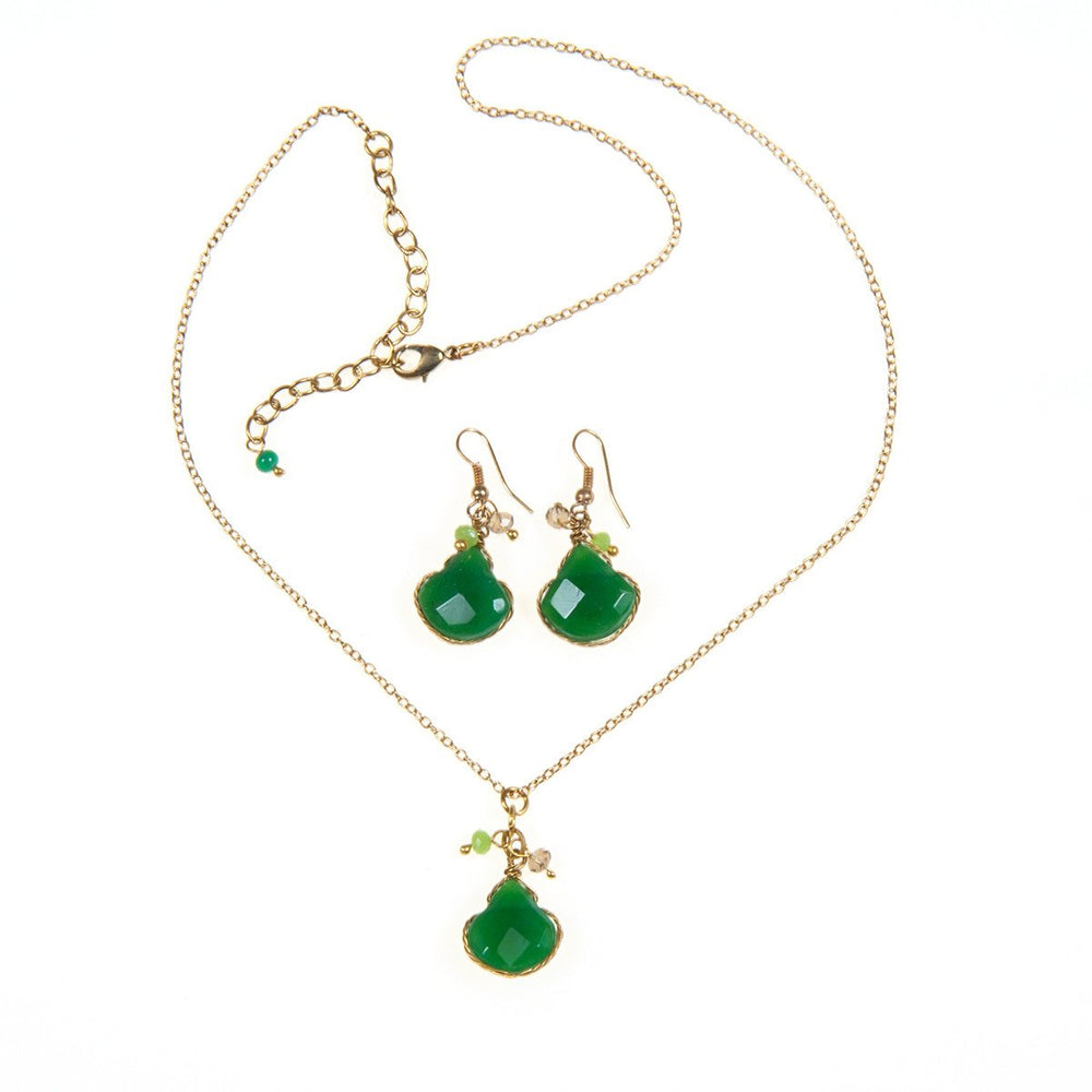 Ambi Necklace & Earrings Set