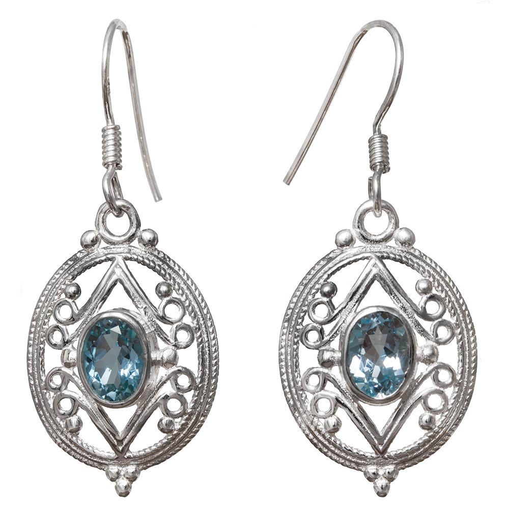 Avni Bue Topaz Earrings