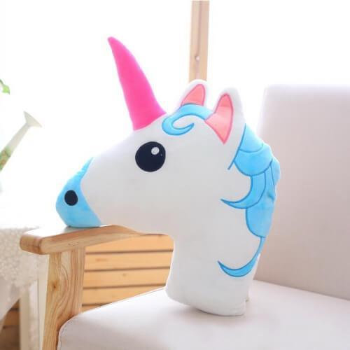 Coussin adorable licorne