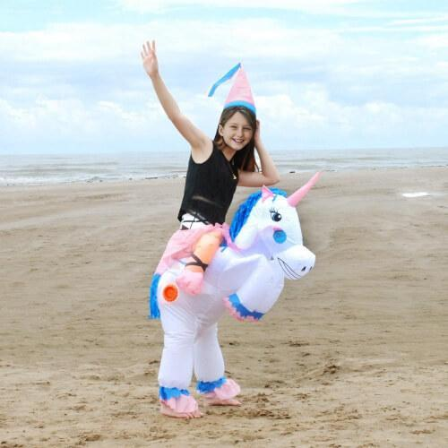 Passion de licorne Enfant Costume gonflable licorne