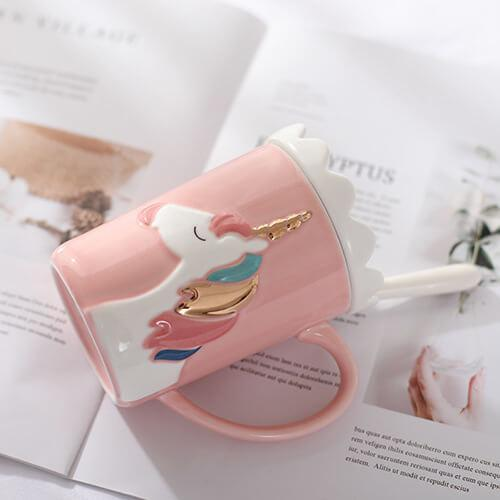 "Passion de licorne Pink Mug Licorne ""fashion"""