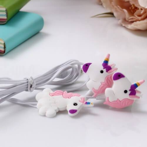 Ecouteurs Intra-Auriculaires Licorne Violet
