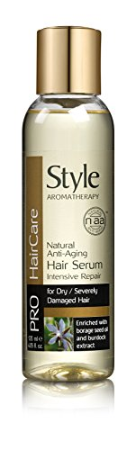 Style Aromatherapy Natural Aging Hair Serum 120ml With Ayur Sunscreen Lotion 50ml