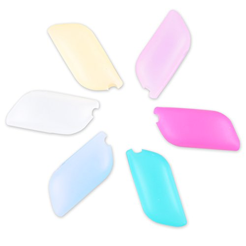 UCEC Pack of 6 - Silicone Toothbrush Covers Great for Home and Outdoor - Hygienic and Anti-bacterial - Keep Harmful Germs Off of Your Toothbrush (pack of 6)