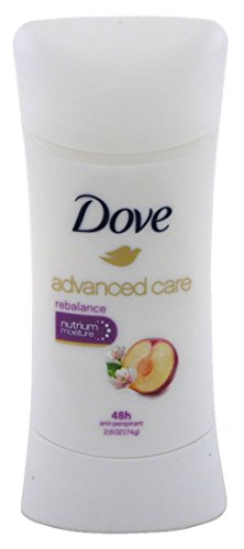 Dove Fresh Reblnce Anti P Size 2.6 Z Dove Avdance Care Go Fresh Rebalance Anti Perspirant 2.6z