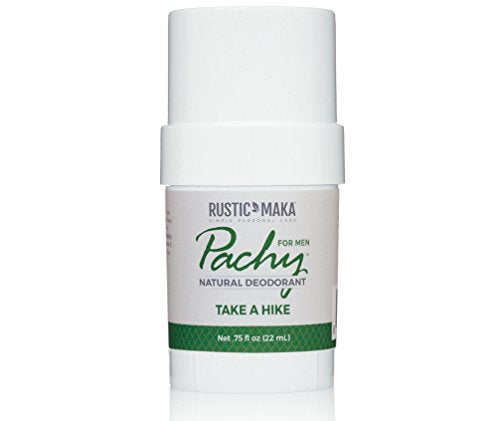 Pachy Natural Deodorant, Take A Hike, For Men, Travel, Long-Lasting Odor Control