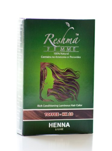 Reshma Femme Rich Conditioning Luminous Hair Color, Toffee, 2.12 Ounce