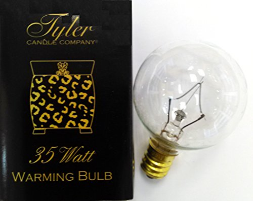 35 WATT BULB for Tyler Radiant & AmbiEscents Wax Melters