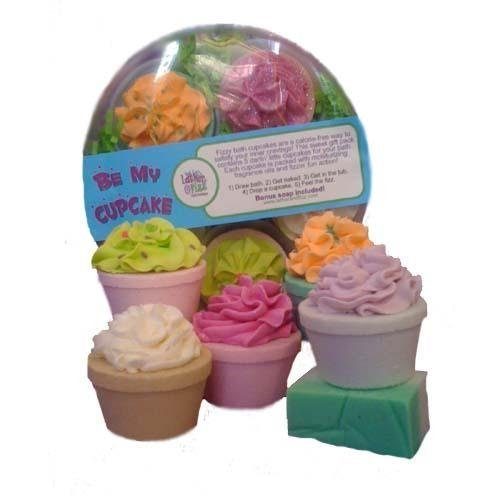 Be My Cupcake Gift Pack by Lather & Fizz Bath Boutique