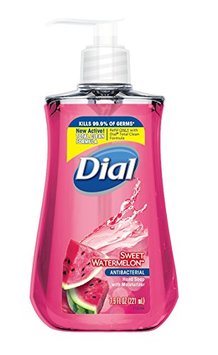 Dial Anti-Bacterial Liquid Hand Soap, Sweet Watermelon, 7.5 Ounce