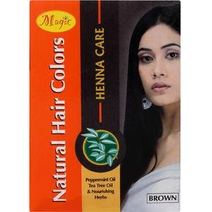 Nature's Essence Magic Henna Hair Color Brown