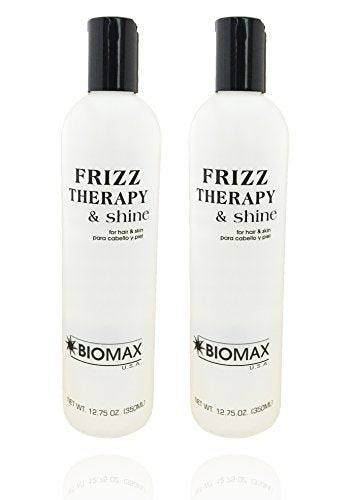 Biomax Frizz Therapy & Shine 12.75 oz (pack of 2)