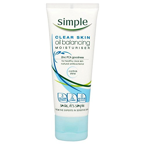 Simple Clear Skin Oil Balancing Moisturiser (75ml) - Pack of 6