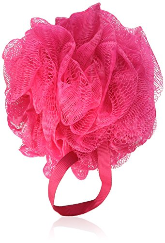 Bath Accessories Gauze Sponge, Coral Pink