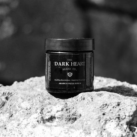 The Dark Heart Beard Co Arabica Facial Scrub - Spoil Me Gift boxes & Gift baskets