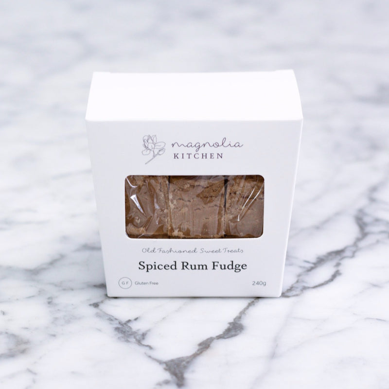 Spiced Rum Fudge