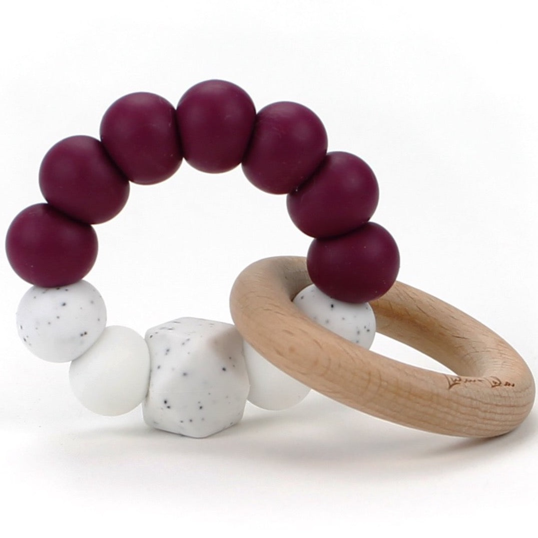 Lulu Lala Teething Toy - Berry
