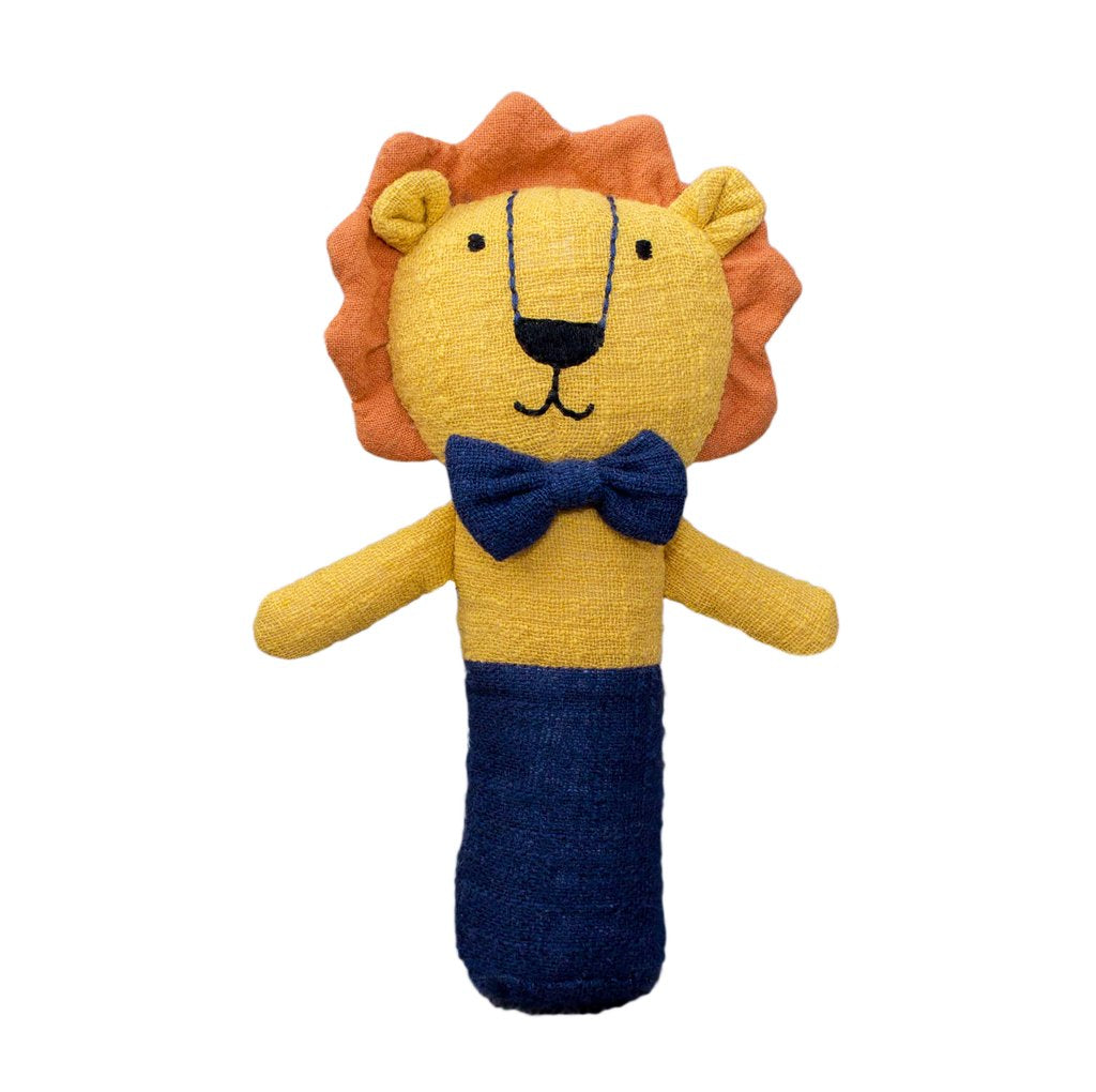 Logan the Lion Stick Rattle