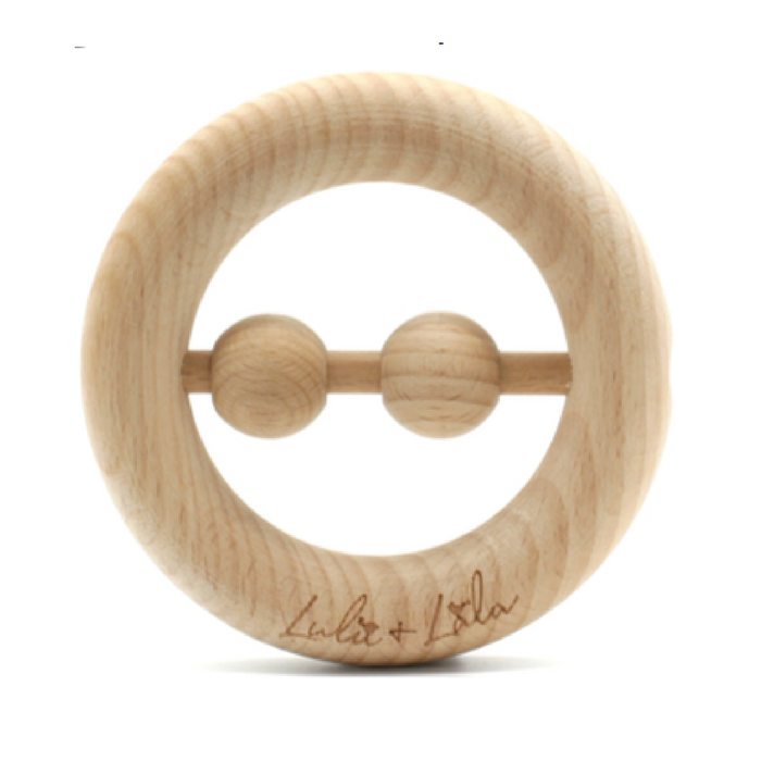 Lulu Lala Teething Toy - Natural