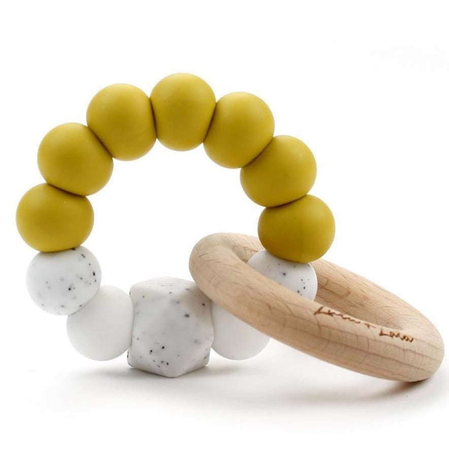 Lulu Lala Teething Toy - Mustard