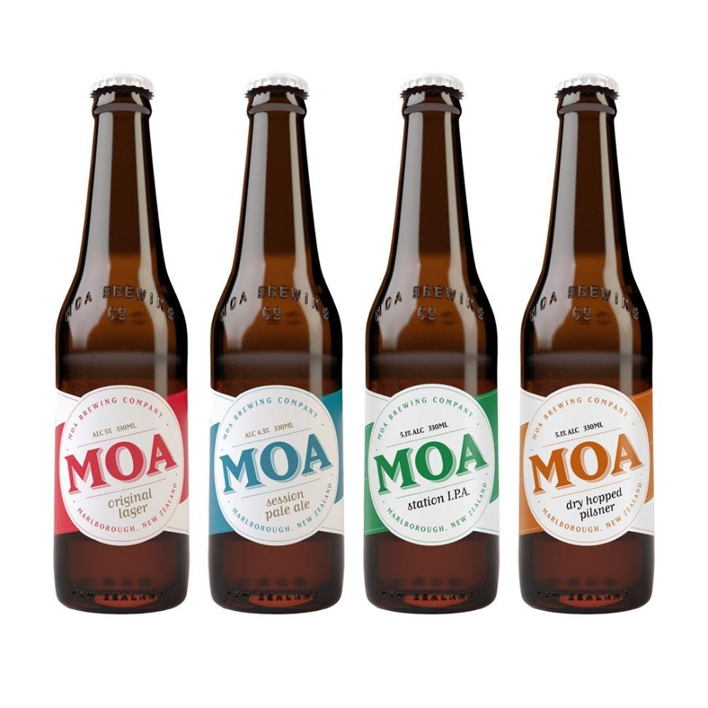 Moa Beer Selection