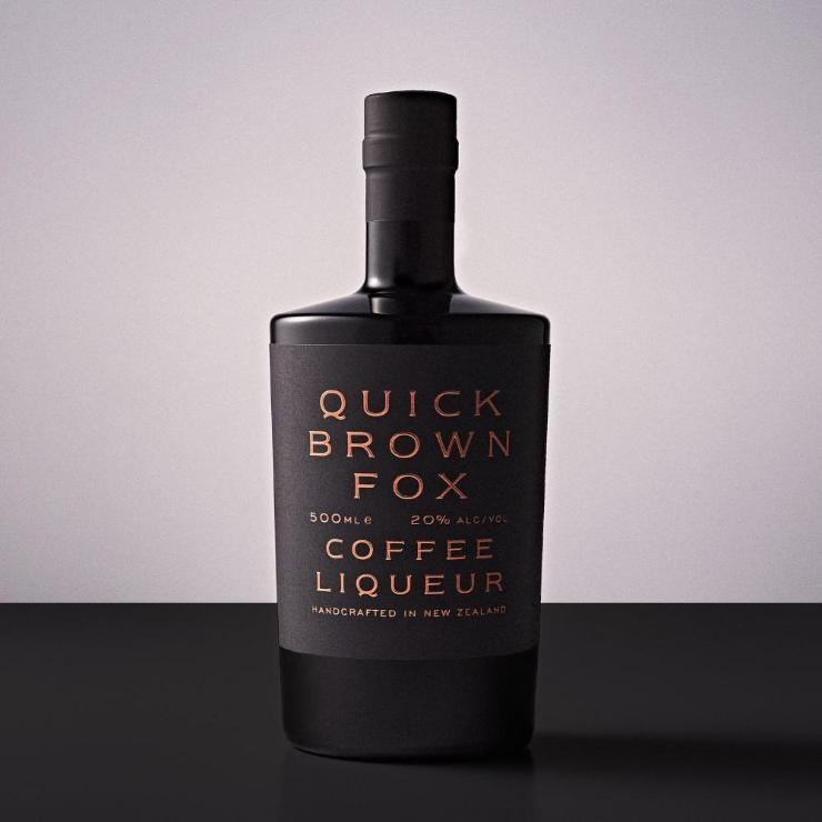 Quick Brown Fox Coffee Liqueur