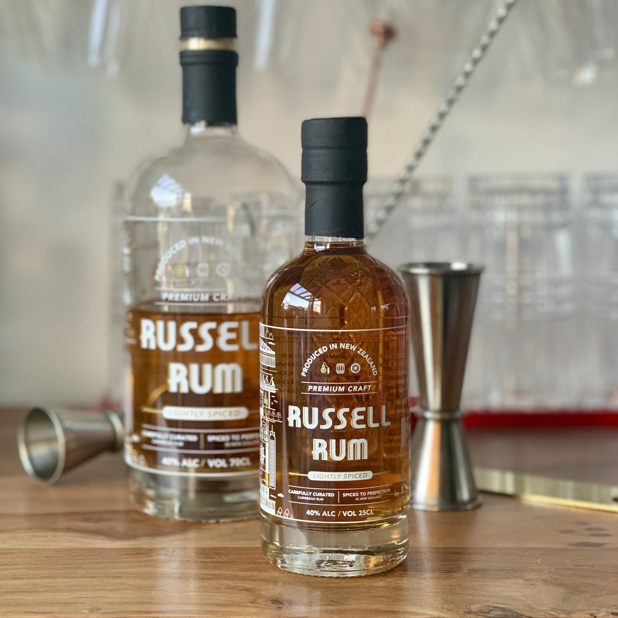 Russell Spiced Rum 250ml