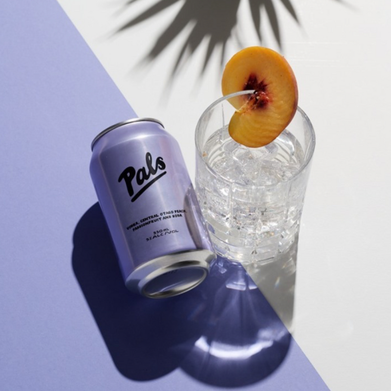 Pals - Vodka, Peach, Passionfruit & Soda